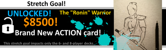 Stretch goal action card